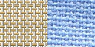 Поплин. Плетение. Фото.