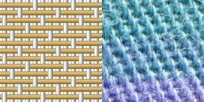 Сатин. Плетение. Фото.